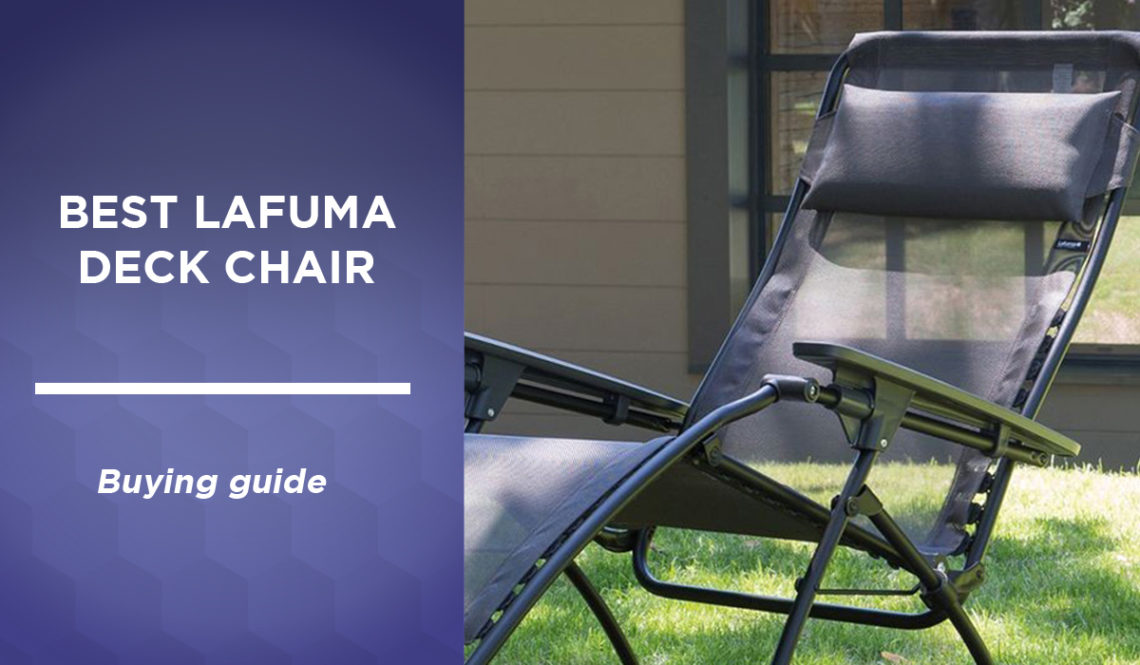 Lafuma's best deckchair: discover our top 3 comparative in Canada in 2021 ✅