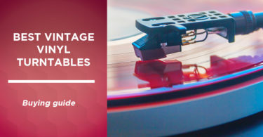 The best vintage vinyl turntables in Canada in 2021: our comparison