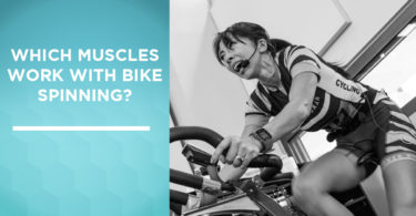 Which muscles work with bike spinning?