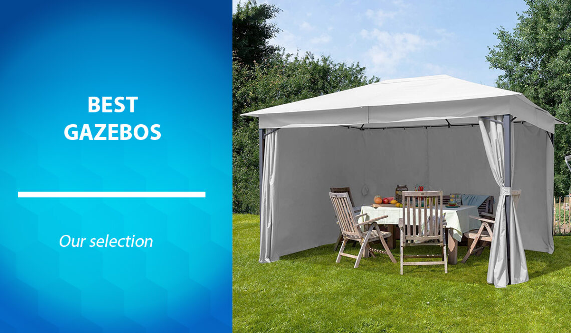 Selection of the best garden gazebos and reception tents in Canada in 2021